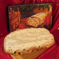 Christstollen - Rosinenstollen